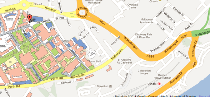 Dalhousie Building Map