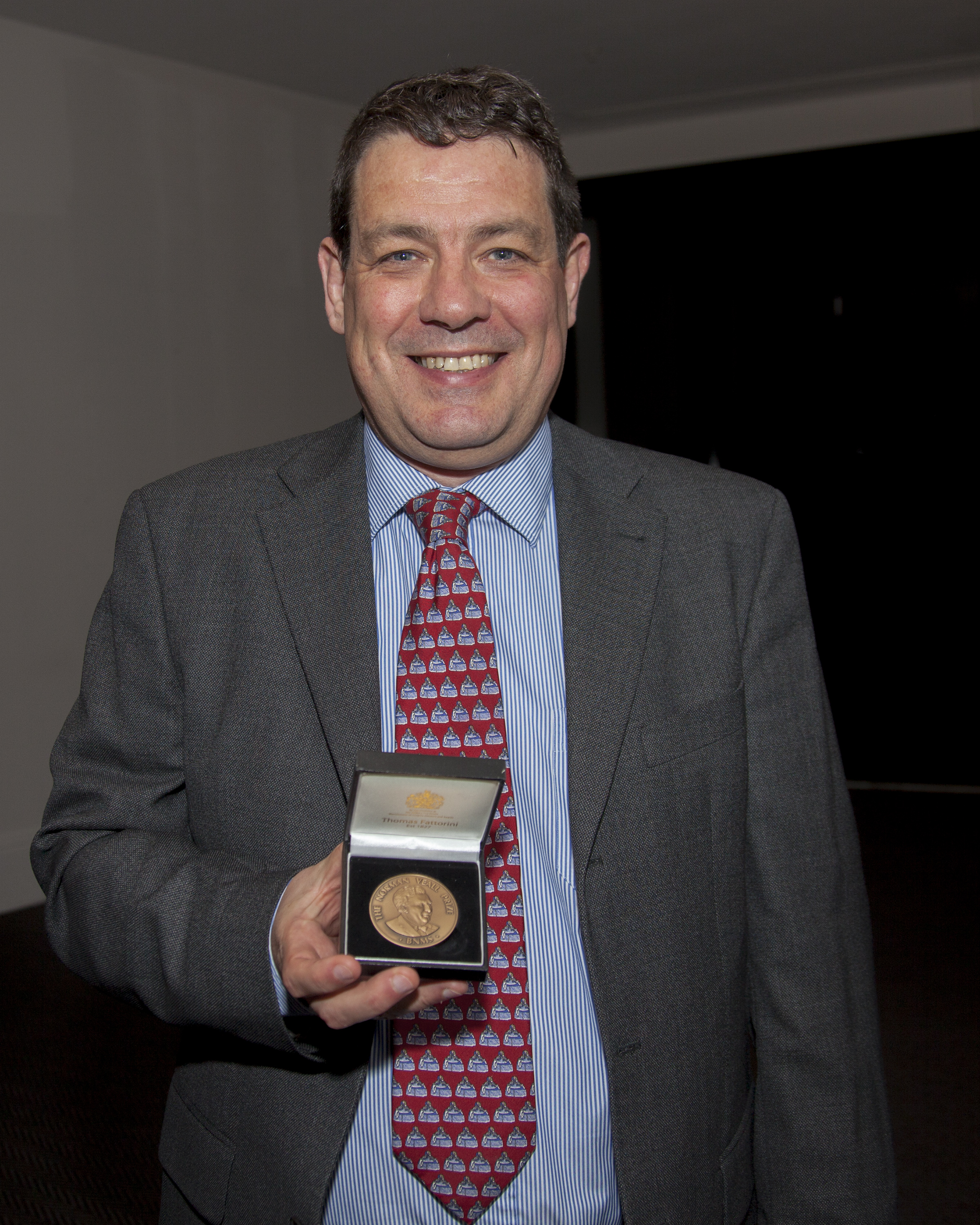 BNMS Norman Veall medal to Dr Roger Staff