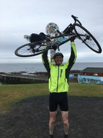 Report on Prof Wyper's LEJOG fundraising cycle